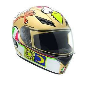 MOTORCYCLE HELMET AGV K3 ROSSI CHICKEN MEDIUM