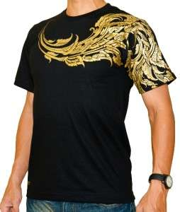 THAI TRADITIONAL KANOK DESIGN COOL TATTOO T SHIRT Sz L