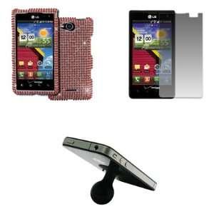 EMPIRE LG Lucid VS840 Full Diamond Bling Design Case Cover