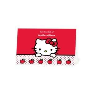 Thank You Cards   Hello Kitty Little Apples By Sanrio