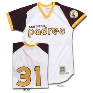 San Diego Padres Dave Winfield Authentic Throwback Home Jersey