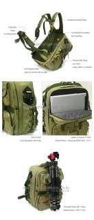 MATIN SLR DSLR Camera Backpack Rucksack Bag (Khaki) NEW