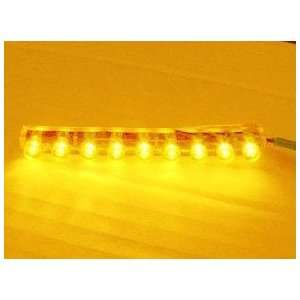 Orange 9 LED Strip NEON MOTORCYCLE / CAR / BOAT / HOME / POD LIGHT