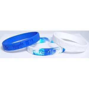Baseball Team Wrist Band Sets   Kansas City Royals