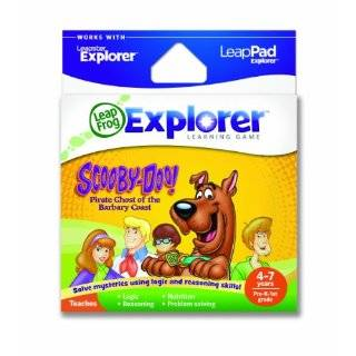 LeapPad Book Scooby Doo and the Disappearing Donuts Toys & Games