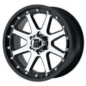 18x9 KMC XD Addict (Matte Black / Machined) Wheels/Rims