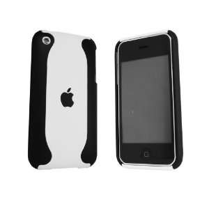 iPhone 3G/3GS Hard case black & White Flux Electronics