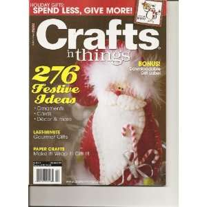 Craft N Things Magazine (December 2009)  Books