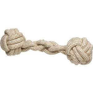 Planet Petco Natural Medium Braided Dumbbell: Pet Supplies