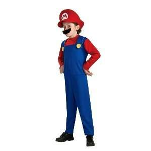 Super Mario (Mario) Child Halloween Costume Size 8 10