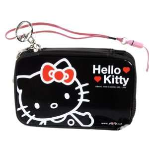 Hello Kitty Camera Case   Cell Phone Tin Case   Black ( Camera