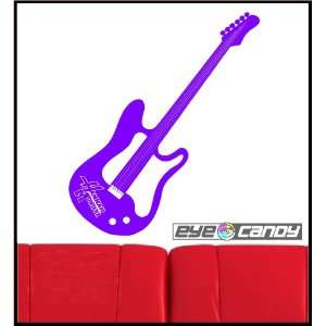 Hannah Montana Guitar Wall Sticker Graphic Decal Words Bedding