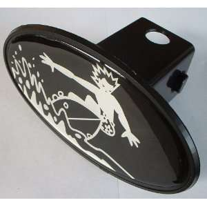 Surver Water Sports Trailer Hitch Cover Plug for Cars, Trucks, SUVs