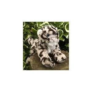 Stuffed Snow Leopard 7 Inch Plush Hugems by Wild Republic