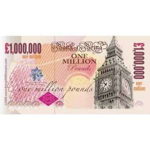 Beingamillionaire One Million Pound Note Toys & Games