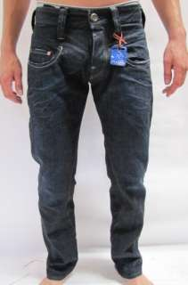 STAR JEANS RADAR TAPERED ROPE DARK BLUE MEN $180 BNWT