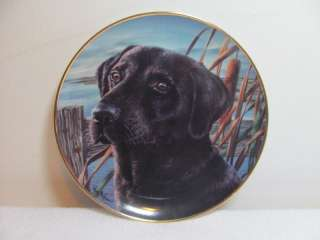 Franklin Mint ~ Mans Best Friend Limited Edition Plate
