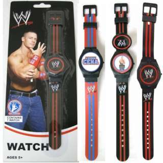 John Cena WWE Watch with rotating covers and band