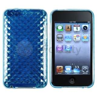 SOFT SILICON GEL SKIN Case Cover Accessory For Apple iPod TOUCH 2 3
