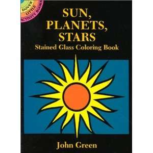 Stars Stained Glass Coloring Book (Dover Stained Glass Coloring Book