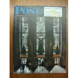 The Saturday Evening Post Magazine   December 3, 1949 Curtis Books