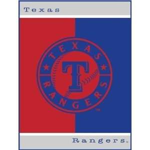MLB Baseball Texas Rangers 60X80 All Star Blanket/Throw   Team