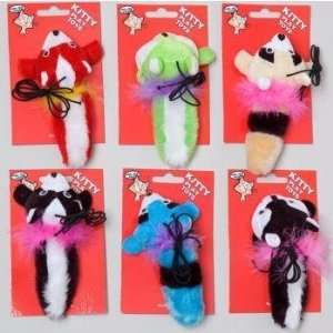 Animal Plush Cat Toy Case Pack 48
