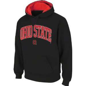 Ohio State Buckeyes Black Tackle Twill Fall Hooded