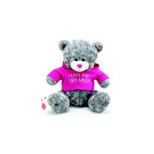 Personalized Plush Hoodie Bear 15 inches http//www