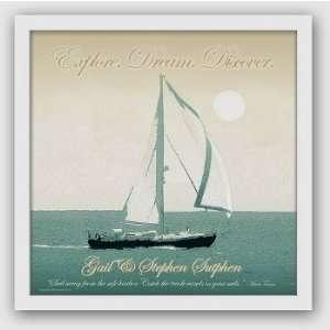 Personalized Set Sail Print