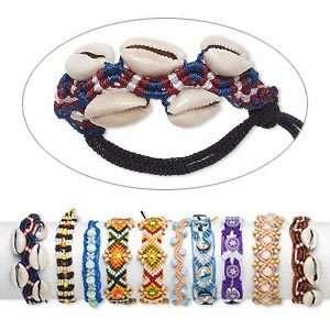 Wholesale 10 Handmade Macramé Friendship Bracelets Mix