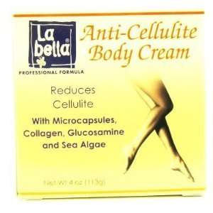 La Bella Anti Cellulite Body Cream 4 oz. Jar # 38517 (3