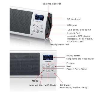 2011 NEW Arrival Snow Angel A9,  Player Music Alarm Clock, FM