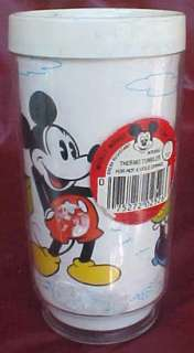 Mickey Mouse Club Insulated Thermos Tumbler