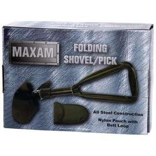 Compact Folding Shovel Pick Camping Tool Hiking Garden Survival