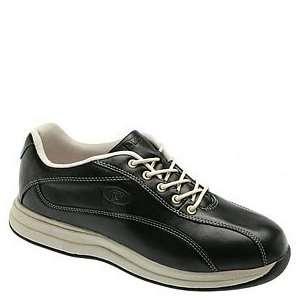 Propet Womens Jazz Walker Walking Shoes,Black/Bone,7 W