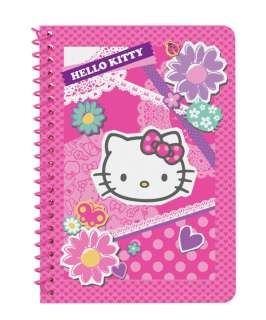 Sanrio   Hello Kitty Collage Mini Spiral Notebook   35 Lined Sheets
