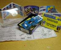1978 AFX MT Ferrari 512M Slot Car Box&Body Blue #1905