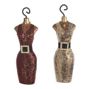 6 Fashion Avenue Cheetah and Snake Skin Print Dress Christmas