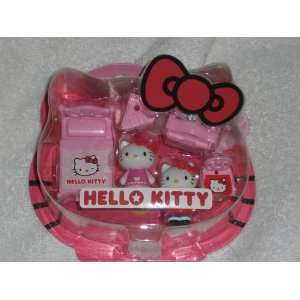 Japanese Sanrio Hello Kitty Mini Playset Bedroom and Chair