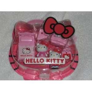 Japanese Sanrio Hello Kitty Mini Playset Bedroom and Chair