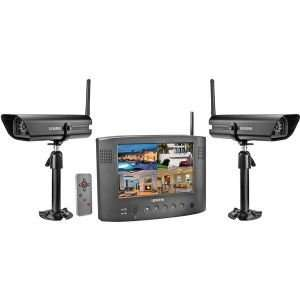 Wireless Security Surveillance System with 2 Cameras