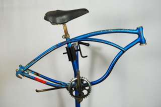 1968 Schwinn Sting Ray Frame sky blue collectible kids bike stylish