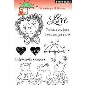 Penny Black Clear Stamps, Raindrops & Kisses