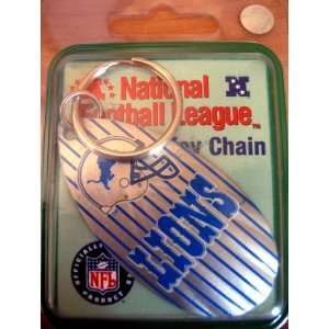 LIONS NFL National Football League Key Chain Sports & Outdoors