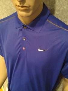 XL 2012 Nike Tiger Woods Golf Tour Ultra Light Polo Shirt $90