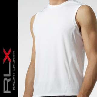 RLX Polo Ralph Lauren Sleeveless Pima Tee Men Shirt M L