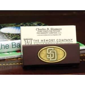 MLB San Diego Padres Baseball Business Card Holder