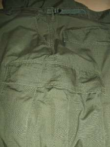 GENUINE VIETNAM ERA US ISSUE RIPSTOP JUNGLE PANTS / COMBAT TROUSERS XL