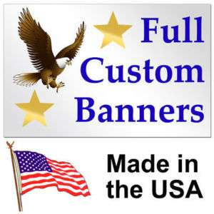 30 Color Custom Banner High Quality Vinyl 4x30